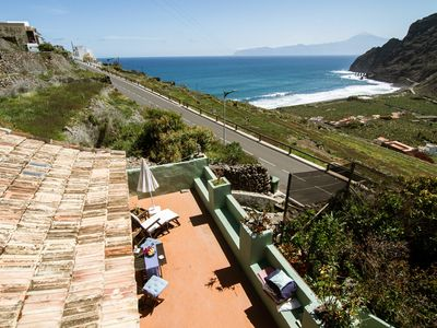 Photo for El Silbo I Wonderful views of the sea and the Hermigua valley. Nature and peace ..