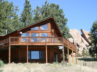 Photo for Magnificent Mountain Home with Beautiful Pikes Peak Views