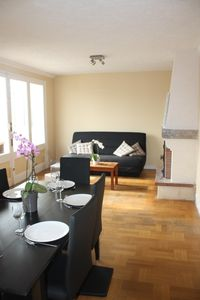 Photo for a comfortable house, a garden with terrace, all the gates of Honfleur