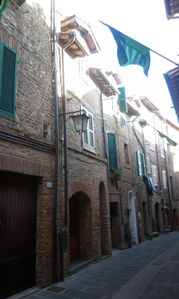 Photo for House townhouse in the heart of the historic center of medieval Città della Pieve.