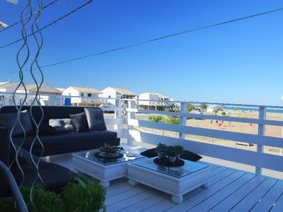 Photo for Gruissan Plage Chalet Sea Full View