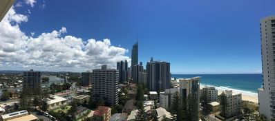 Photo for SURFERS PARADISE LUXURY BEACHFRONT ENTIRE 15TH FLOOR