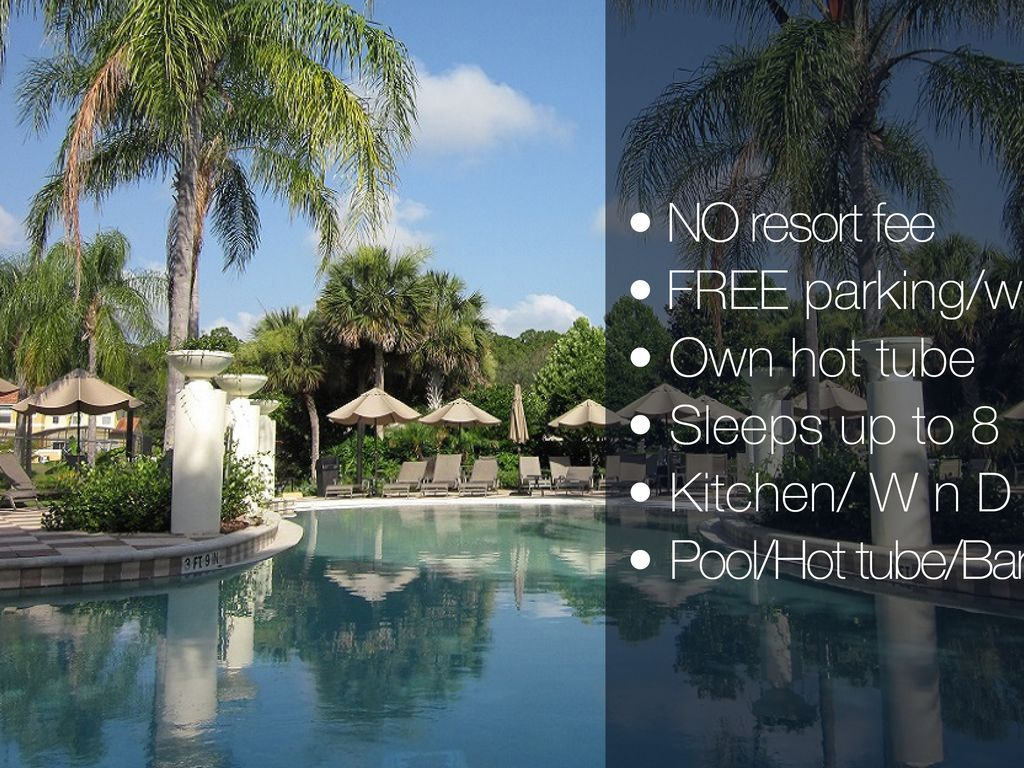 OWN HOT TUBE+NO RESORT FEE+FULL KITCHEN+FREE INTERNET