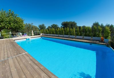 10 x 5m pool (depth 1.4m)