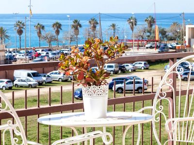 Photo for MOLI - FAMILIAR APARTMENT - Canet town located on the beach between Barcelona and the Costa Brava