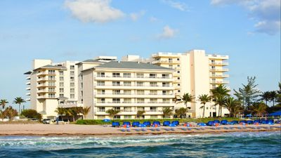 Photo for tropical beach vacation at Pompano Beach