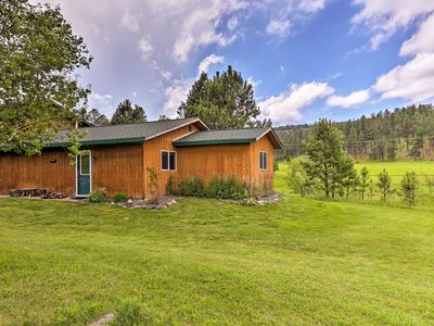 Photo for NEW! Cozy Rapid City Cabin by Hiking & ATV Trails!