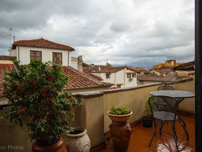 Photo for Florence Historical Center: Apartment with large terrace near the cathedral