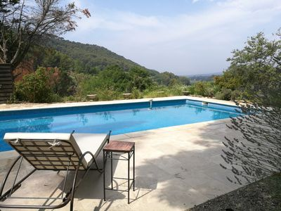Photo for 10mn from the beaches, La Bisotte: property with large pool