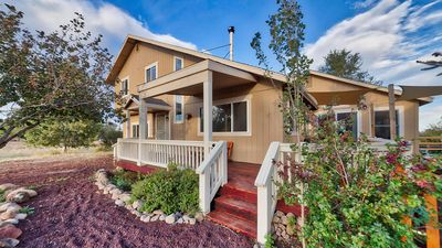 Photo for Incredible 360° Mountain Views Friends N Family Home w/ game room & fenced yard