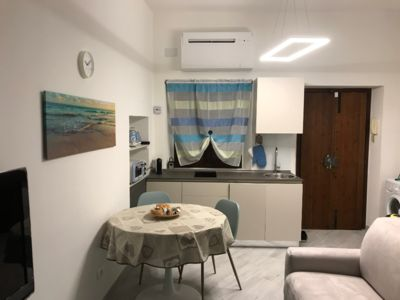 Photo for Apartment overlooking the cycle path of the Martesana canal