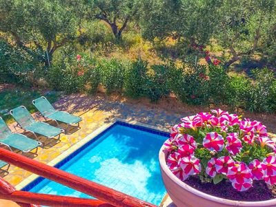 Photo for Villa Zozel: Private Pool, Walk to Beach, A/C, WiFi