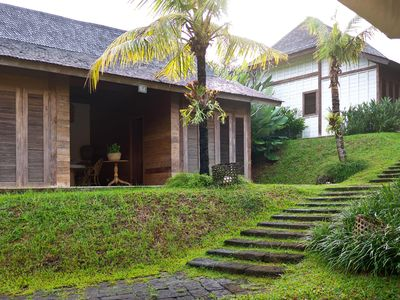 Photo for Modern Wooden House in Canggu Resort