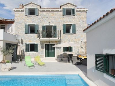 Photo for ctma 215 - Holiday house with pool, in the historic center of Makarska