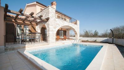Photo for Modern villa with Private pool Kontesici 13