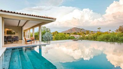 Photo for Close to Old Town Scottsdale, infinity pool! SUPER Modern Luxury Villa w/VIEWS,