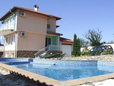 Photo for Stunning Large private villa in a beautiful garden with private pool FREE WI FI