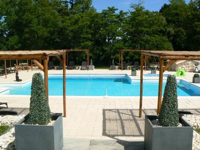 Photo for Le Campsis  Country complex, 3 gites, stunning pool, restaurant, childs playarea