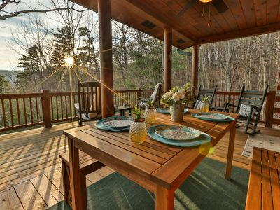 Photo for High Above The Pines is a well appointed couples retreat or a small family getaway close to the Bent