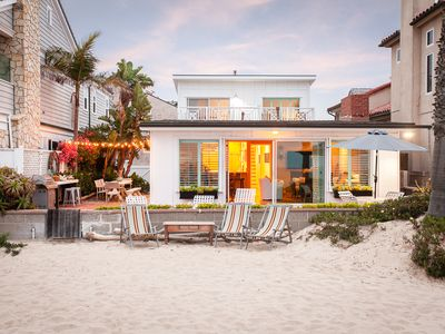 Photo for Oceanfront+Classic+Stylish single family beach house.  No crazy boardwalk=quiet!