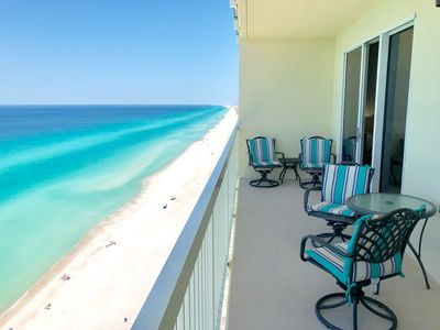 Photo for BEACH CHAIRS 2019 Master Bedroom Gulf View !