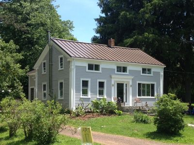 Photo for Bear Hill Farm, Delhi NY - Restored 1850 Farmhouse On Winding Country Lane