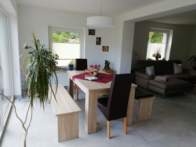 Photo for -SANIERTE- Idyllic apartment right on the lake with its own jetty
