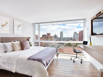 Photo for Urban Heights 305 - Trendy Studios in Exciting Chapinero Alto