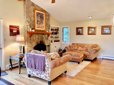 Photo for Ski-in ski-out Bretton Woods Cottage. World class skiing, hiking, waterfalls and a myriad of activities at your doorsteps!