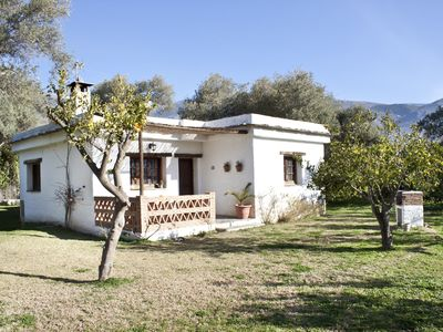 Photo for House for 4 people with pool, large garden and views of the mountains.