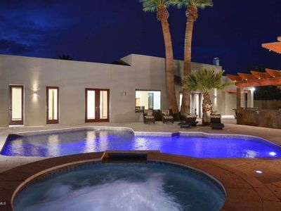 Photo for JACUZZI & PRIVATE HEATED POOL - LUXURY in the heart of Scottsdale