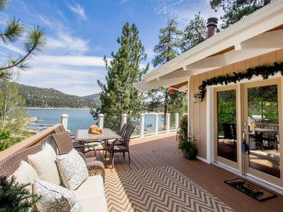 Photo for *IMPECCABLE LAKE HOUSE~Hot Tub~Boat Dock~