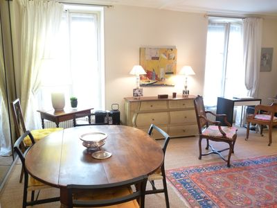 Spacious and Bright Salon/Dining Room