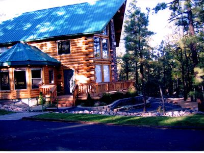 Photo for Luxury Log Cabin in the Pines