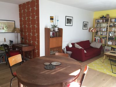 Photo for Very nice apartment, spacious and quiet, near La Villette and Ourcq