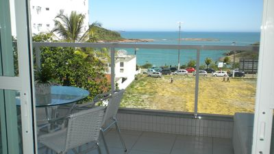 Photo for Large apartment facing beach Bacutia with 3 suites and gourmet balcony