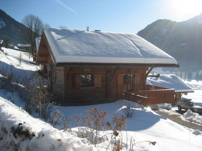 Photo for Beautiful Chalet in La Chapellle d'Abondance(5 km from Chatel), Portes du Solei