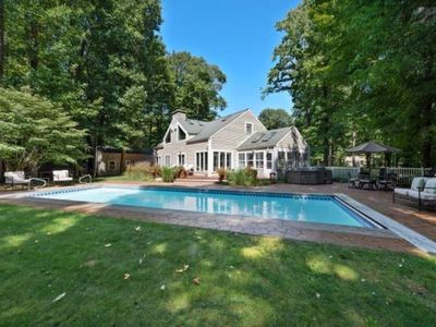 Photo for NEW LISTING! Cherry Beach Pool House with large heated pool & hot tub!