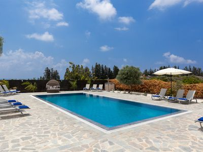 Photo for 5 Bedroom Luxury Villa. Sleeps 12. Huge Garden, Fantastic Pool and Hot Tub