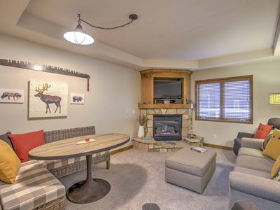 Photo for Breck Base Condo - Steps to Mtn, < 1Mi to Main St!
