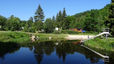 Photo for Chalet | Camping Harfenmühle