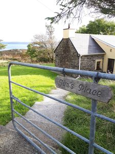 Photo for TRADITIONAL STONE COTTAGE ON BERE ISLAND WITH SEA VIEWS