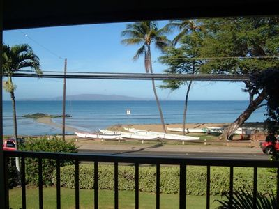 Amazing ocean view from the lanai !
