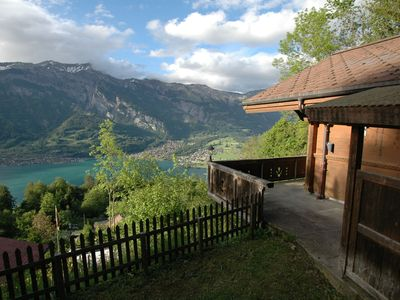 Photo for Beautiful Holiday Home in Brienz with Lake View