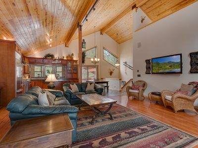 Photo for Bear's Lair  - 3 BR Tahoe Donner Home Backing to Forest