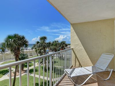 Photo for Enjoy the breathtaking view of the Gulf Of Mexico from the 3rd floor balcony