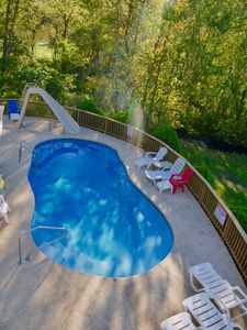 Photo for Karis Cottage - Private Pool and Dock on 20 Lakefront Acres