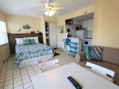 Photo for Sea Rocket 17 North Redington Beach NEWLY Decorated Second Floor Efficiency