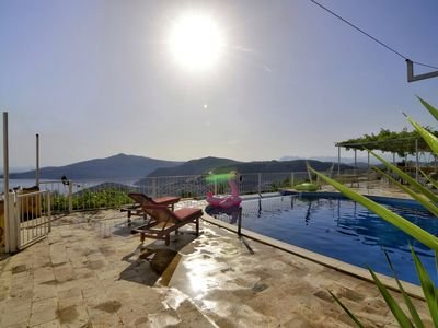 Photo for Villa Seboş is a holiday villa with sea view and Unseen Pool Area