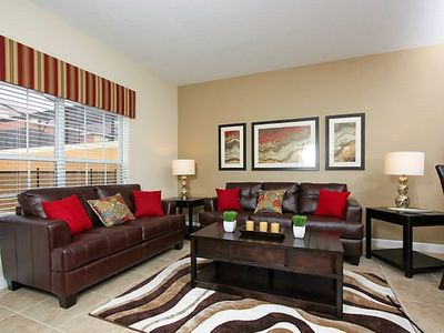 Photo for Luxurious 4 Br, 3 Ba Townhome In Paradise Palms Resort Near Disney